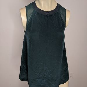 Madewell - forest green tank